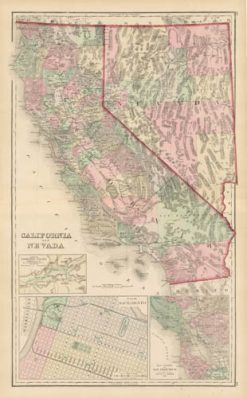 1880 Gray California & Nevada